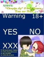 Chuyên san số 6 -  Chuyện ấy ở tuổi Xteen - Yes or No