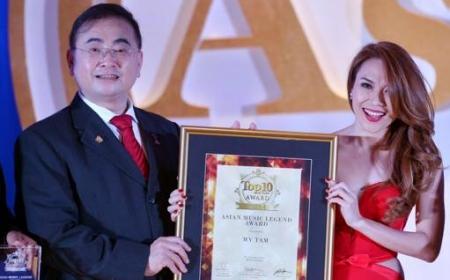 Mỹ Tâm được vinh danh Huyền thoại Âm nhạc Châu Á tại Malaysia